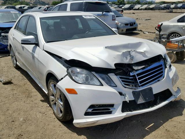 2013 white Mercedes