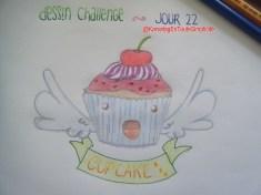 Jour 22 - Un cupcake