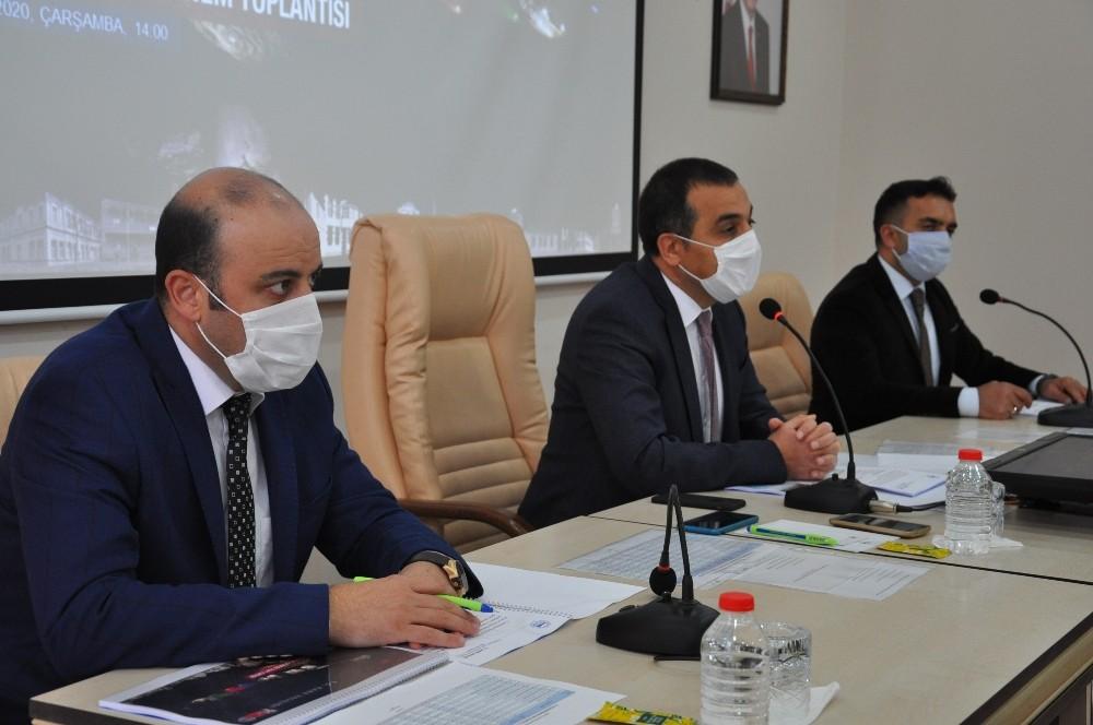Kars'ta yılın son koordinasyon toplantısı yapıldı