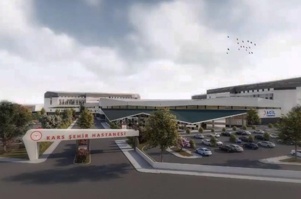 500 yataklı Şehir Hastanesi'nin etütlere bağlı statik hesapları yapılıyor