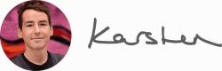 Karsten Rowe signature.