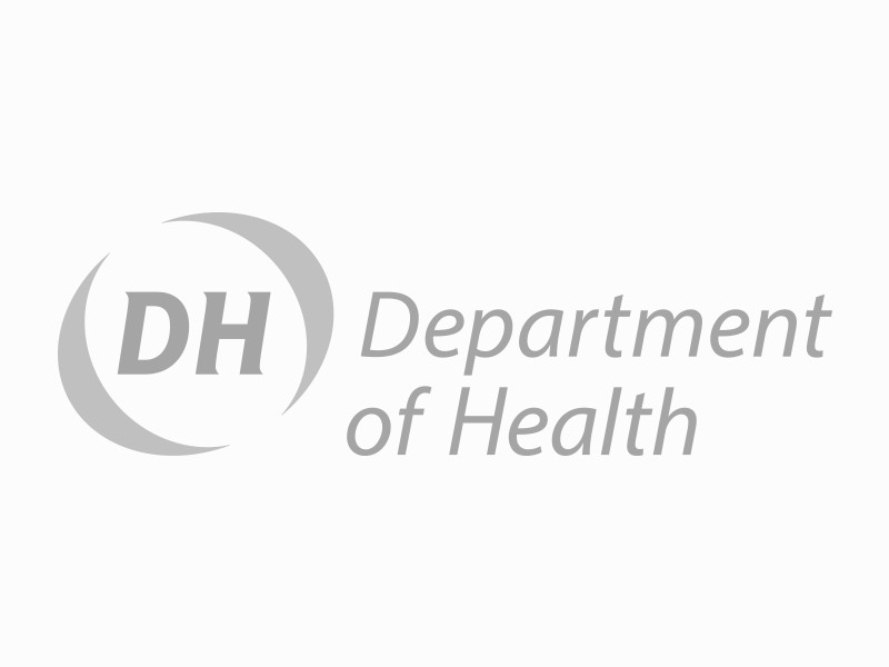 Department of Health logo.