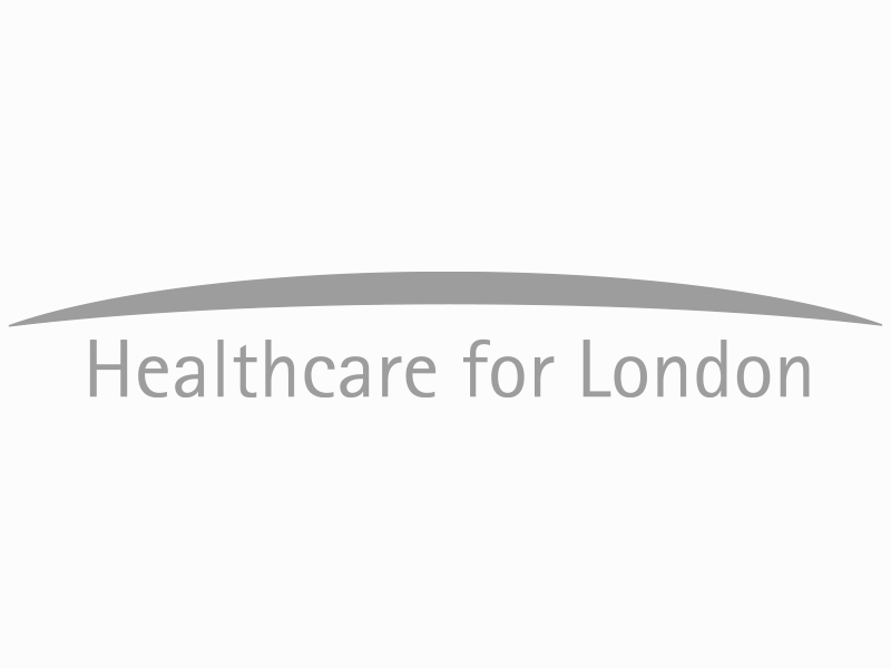 Healthcare for London logo.