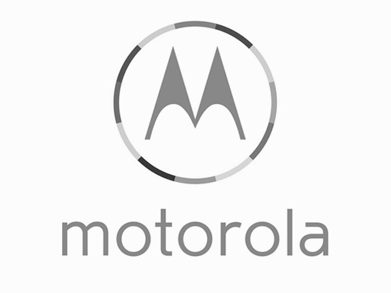 Screenshot of Motorola logo.