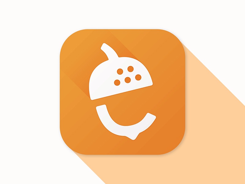 Nutshell app icon design.