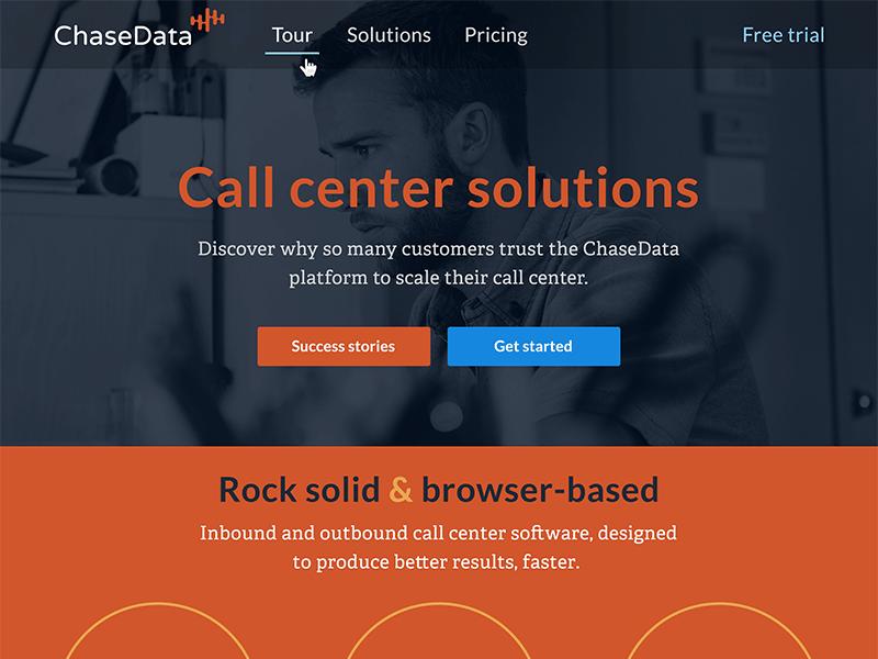 ChaseData Web Design