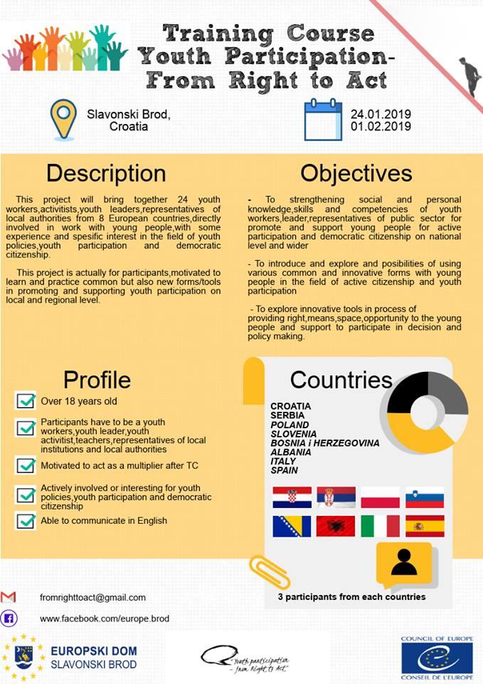 Trajnim | Kërkohen pjesëmarrës nga Shqipëria
