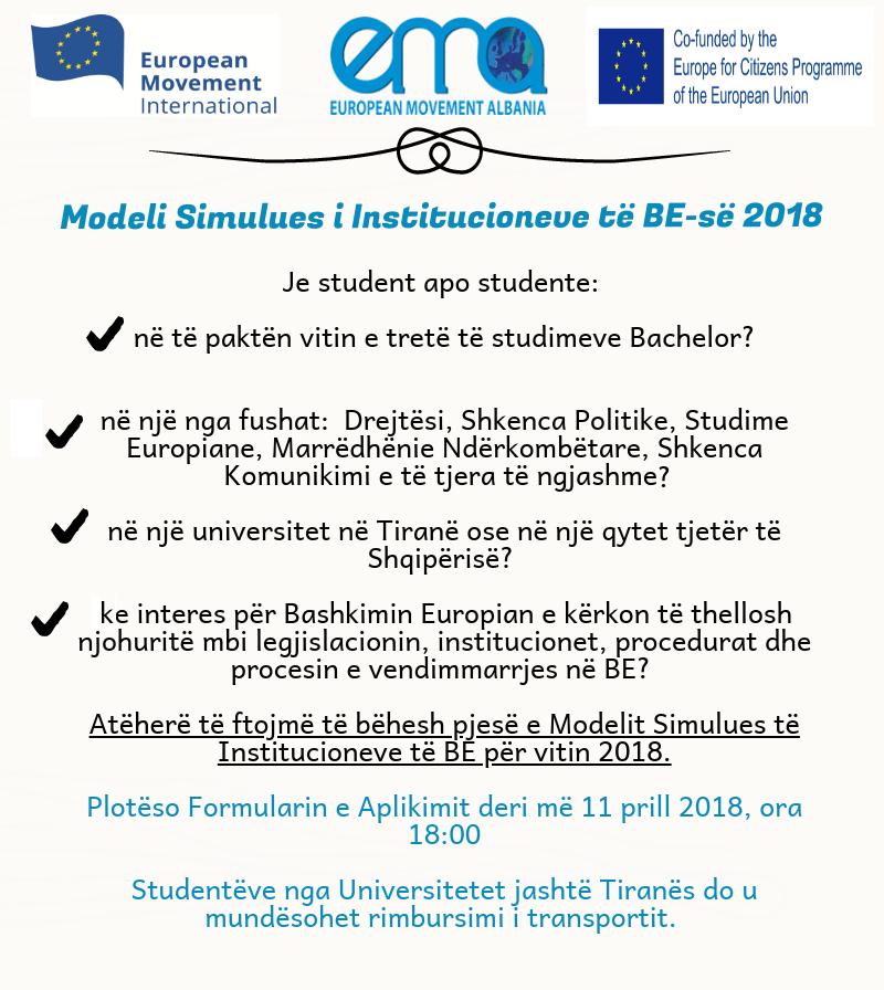 Trajnim për studentët shqiptarë | Tiranë