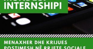 Internship – Karta Rinore Evropiane