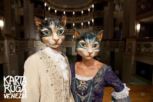 Gnaga: la maschera del gatto