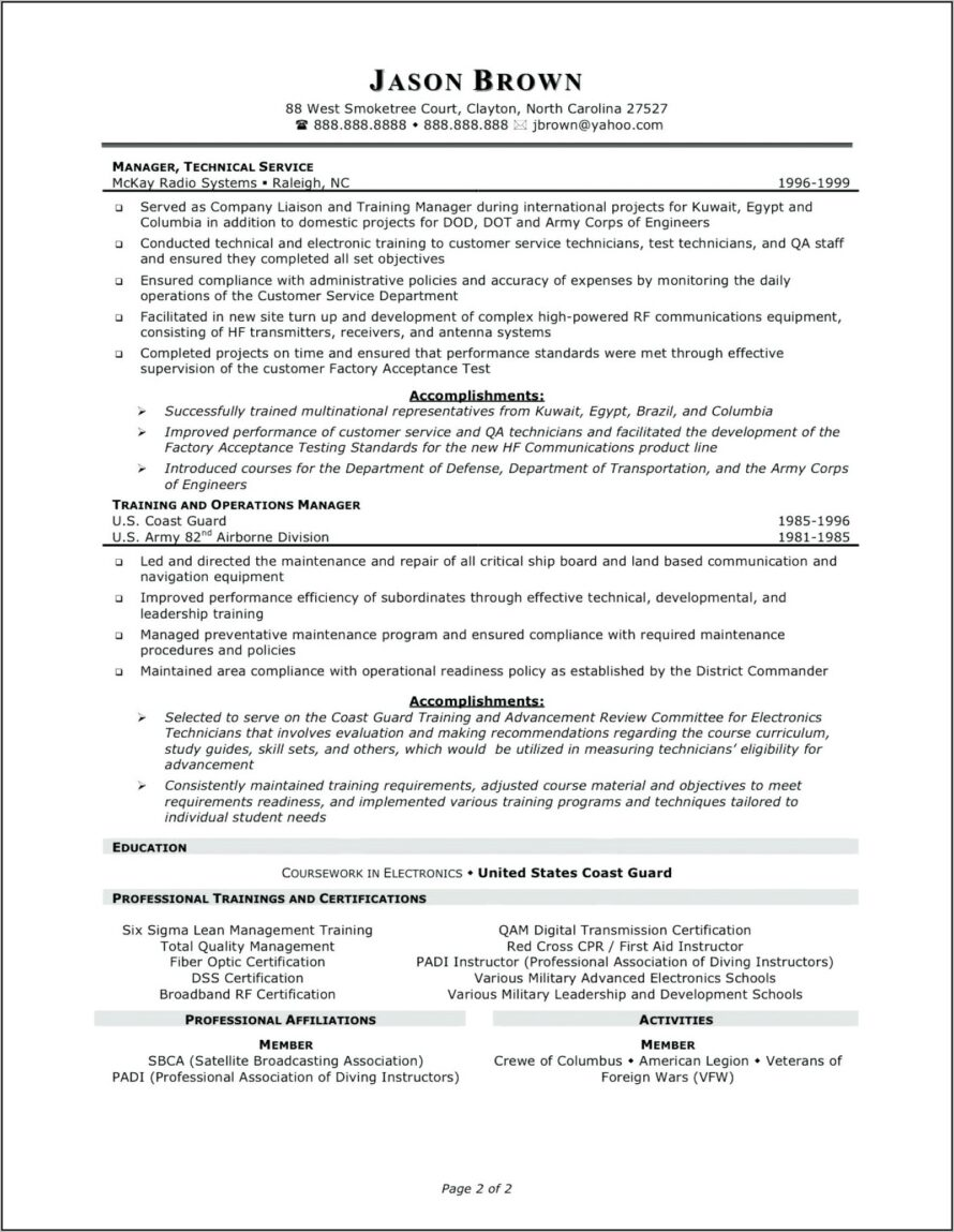 Customer Service Representative Resume Samples Free