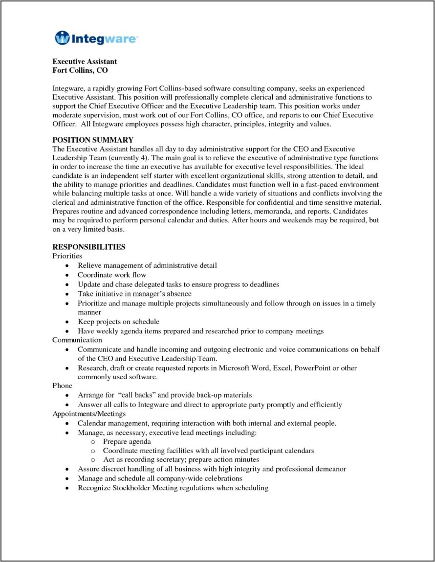 Functional Resume Template Medical Assistant