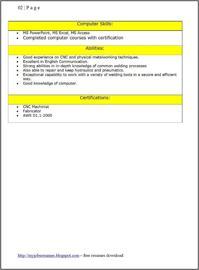 resume samples for jobs download