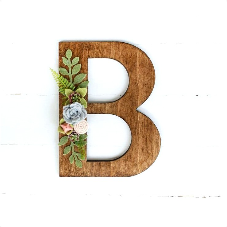 1 1 2 Inch Wooden Letters