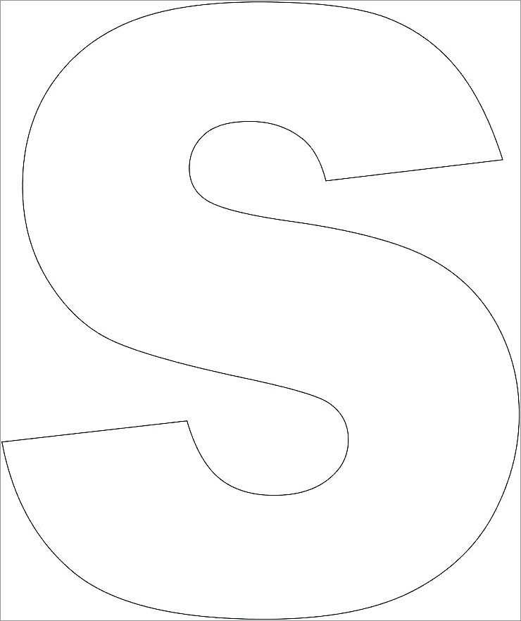 Block Letter Stencils To Print Free