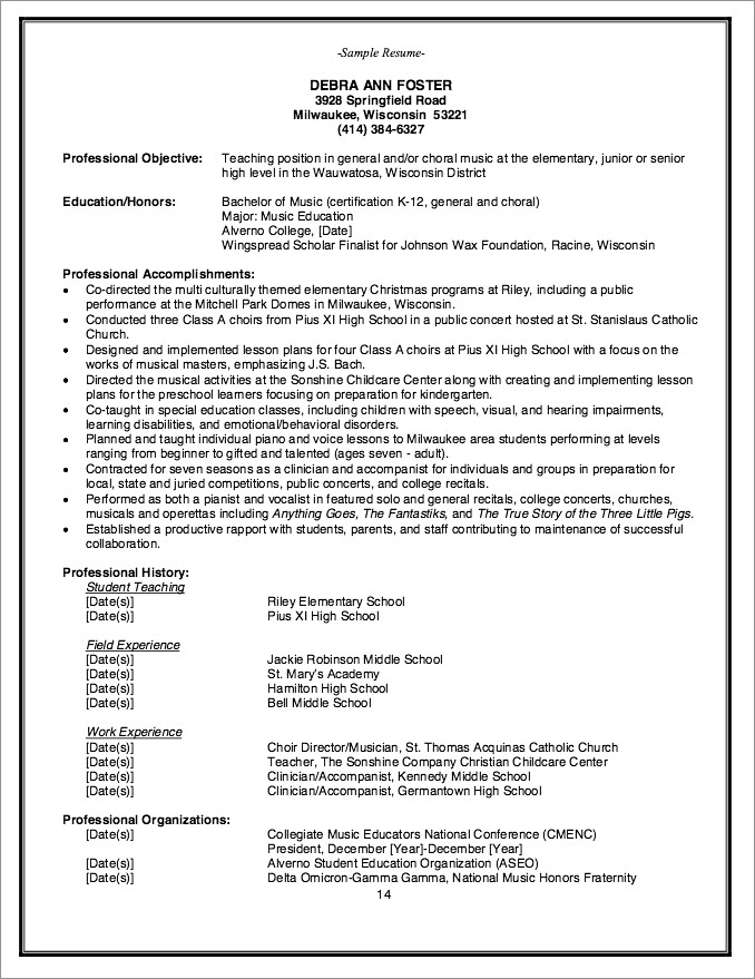 Caregiver Cover Letter No Experience