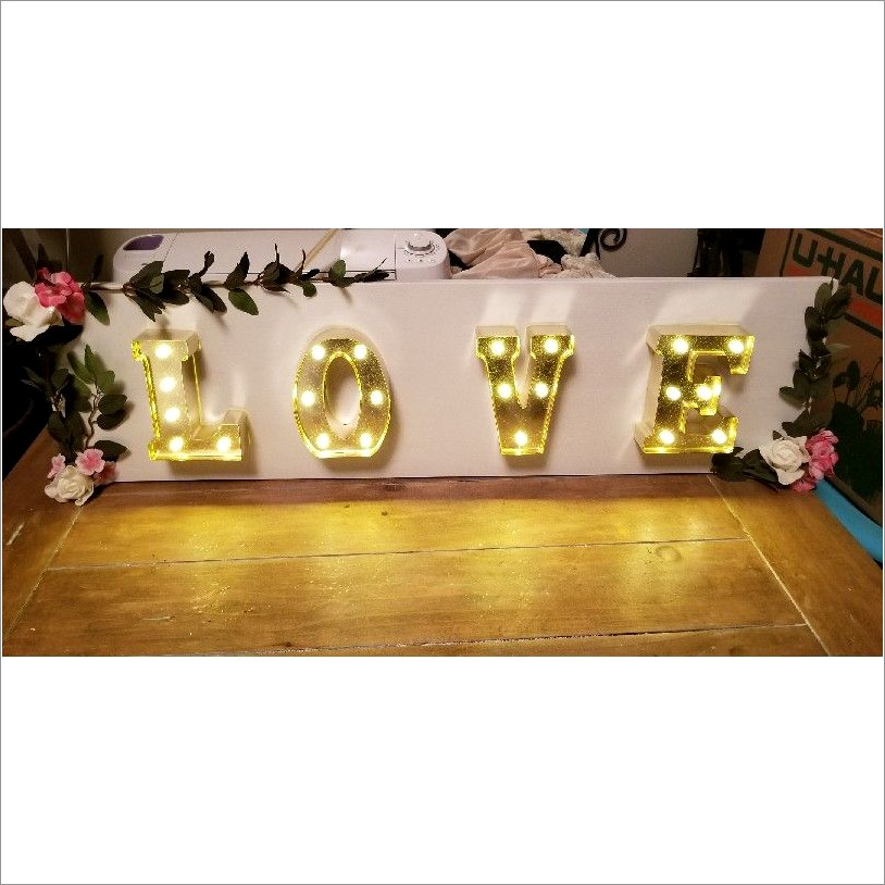 Cheap Light Up Letters