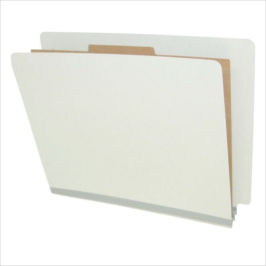 Classification Folders 1 Divider Letter Size