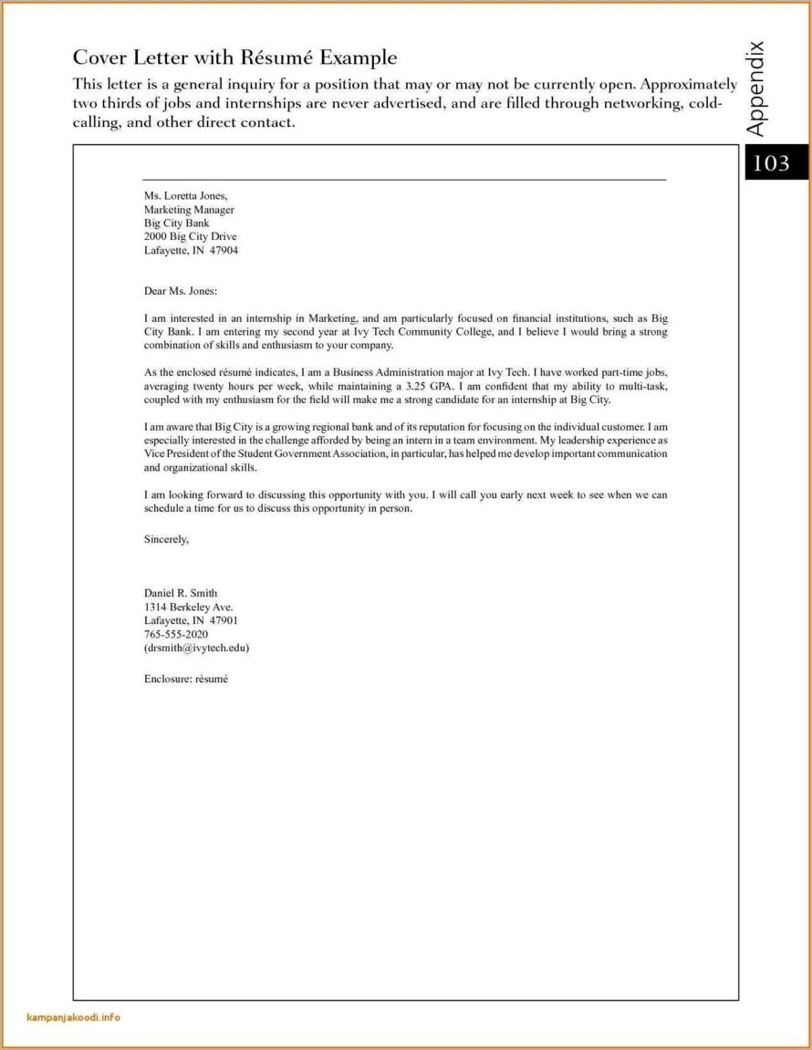 Cover Letter Electrical Company Profile Format