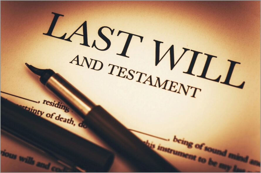 Last Will And Testament Templates South Africa
