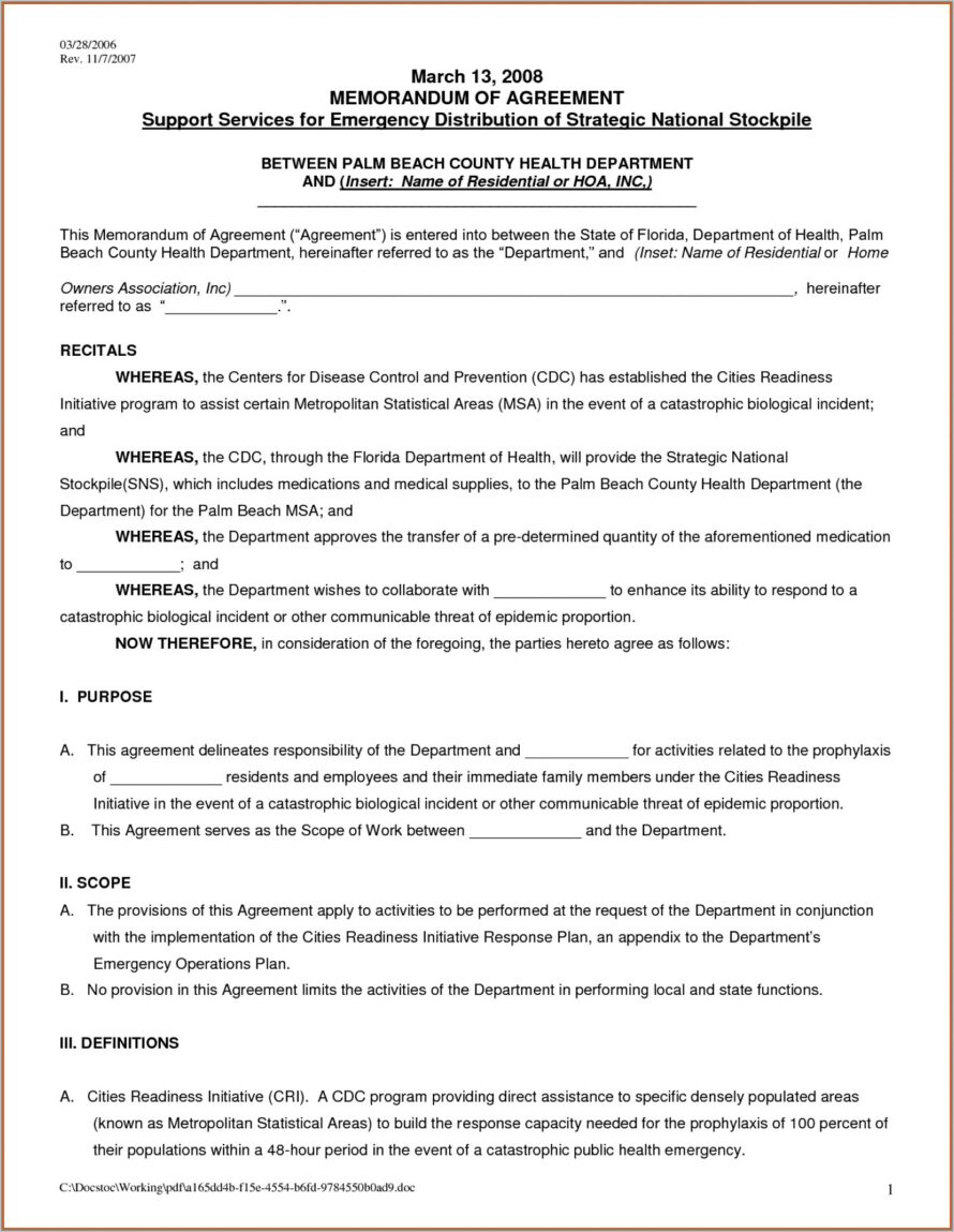 Tenancy Agreement Template Word Document Singapore