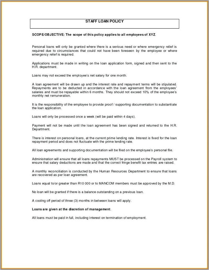 Tenant Contract Form Uk