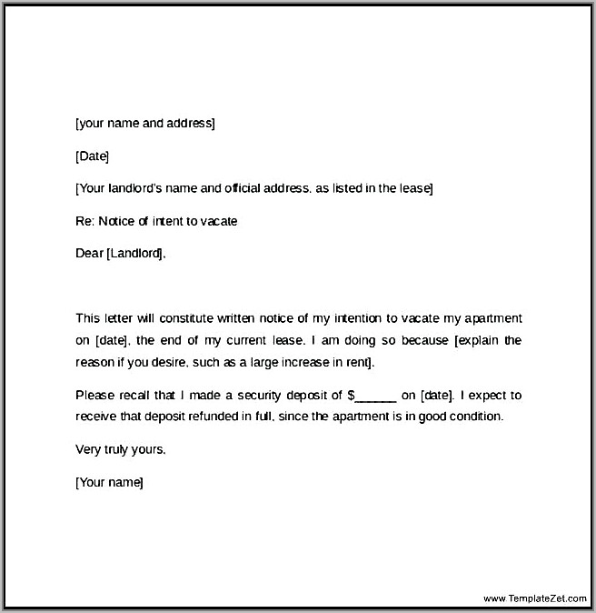 Tenant Eviction Notice Sample Letter India