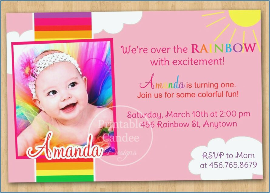 Text Message 5th Birthday Invitation Message