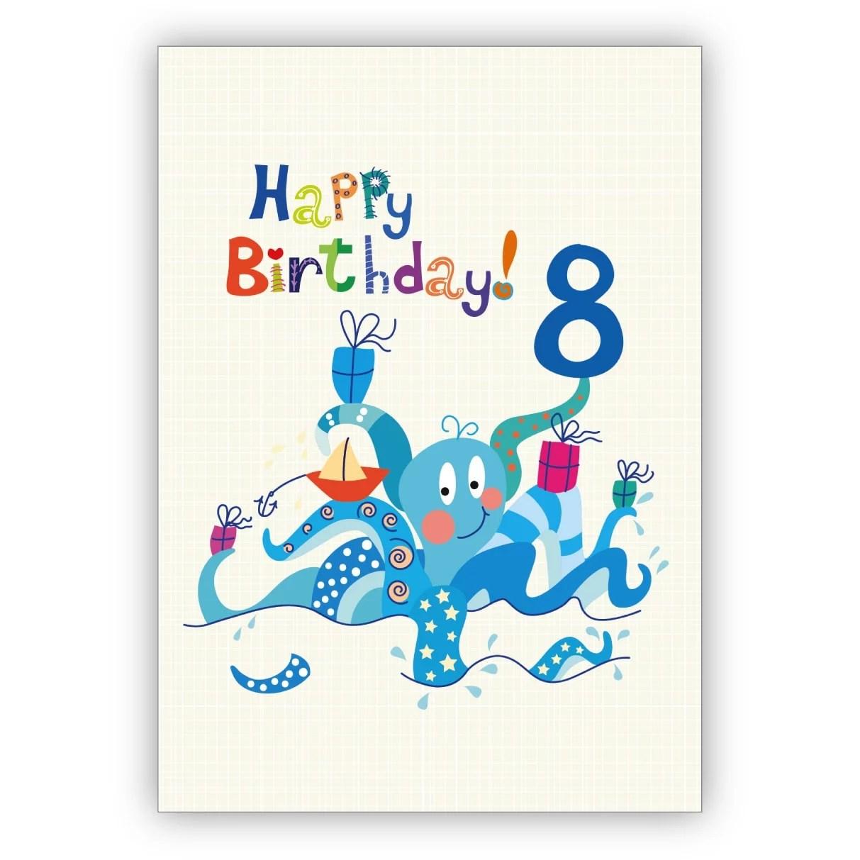 Twizler Geburtstagskarte Zum 5 Geburtstag Fur Madchen Motiv Mit