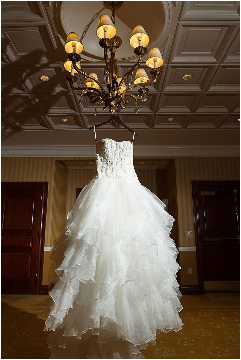 Wedding dress held at the Palace at Somerset Wedding venue
