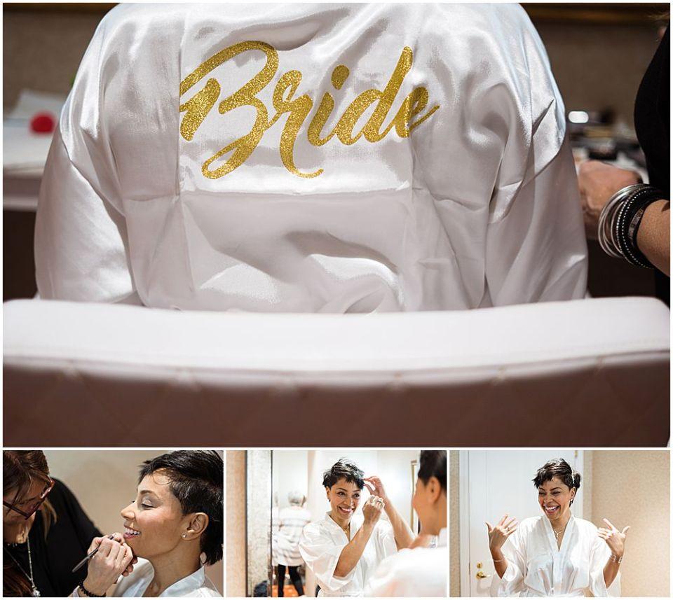 Bride Logo wedding address