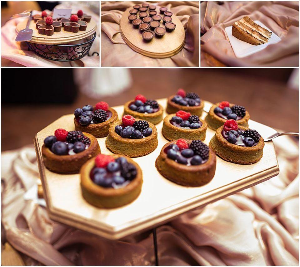 Wedding Food Photo shoot at The Palace at Somerset Park