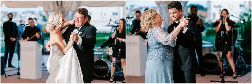 Some parent dances captured at this Molly Pitcher Inn wedding