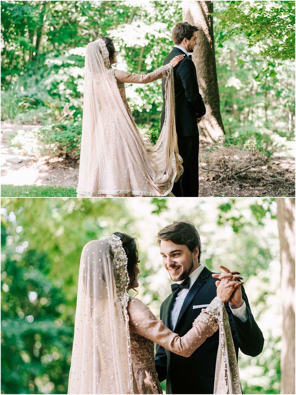 First look at their Stroudsmoor Country Inn Wedding