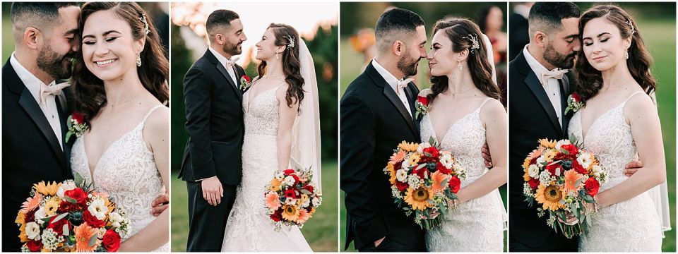 Some cute moments at this Valenzano Winery Wedding