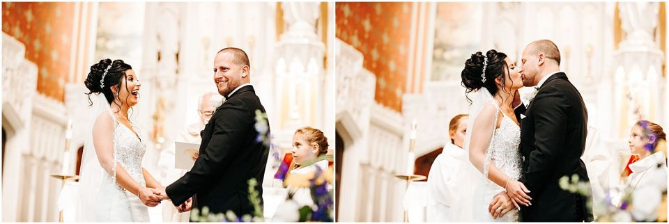 Funny Candid moments at this Clarks Landing Yacht Club wedding