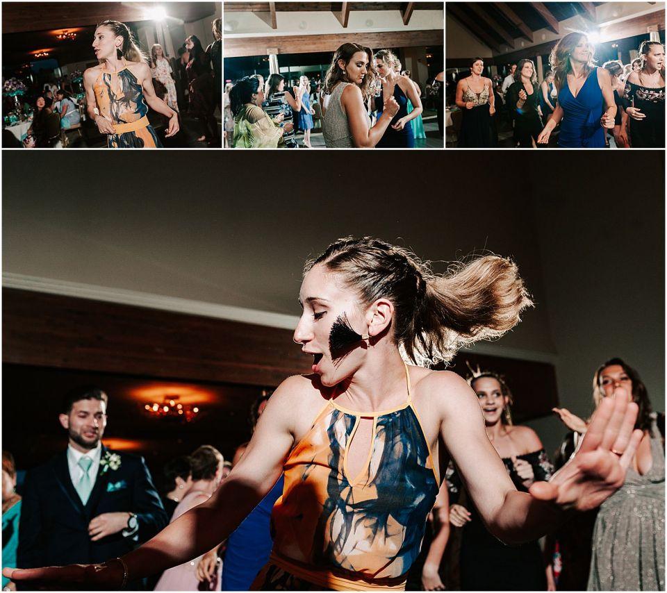 Dancing the night away at this Lambertville Station Wedding