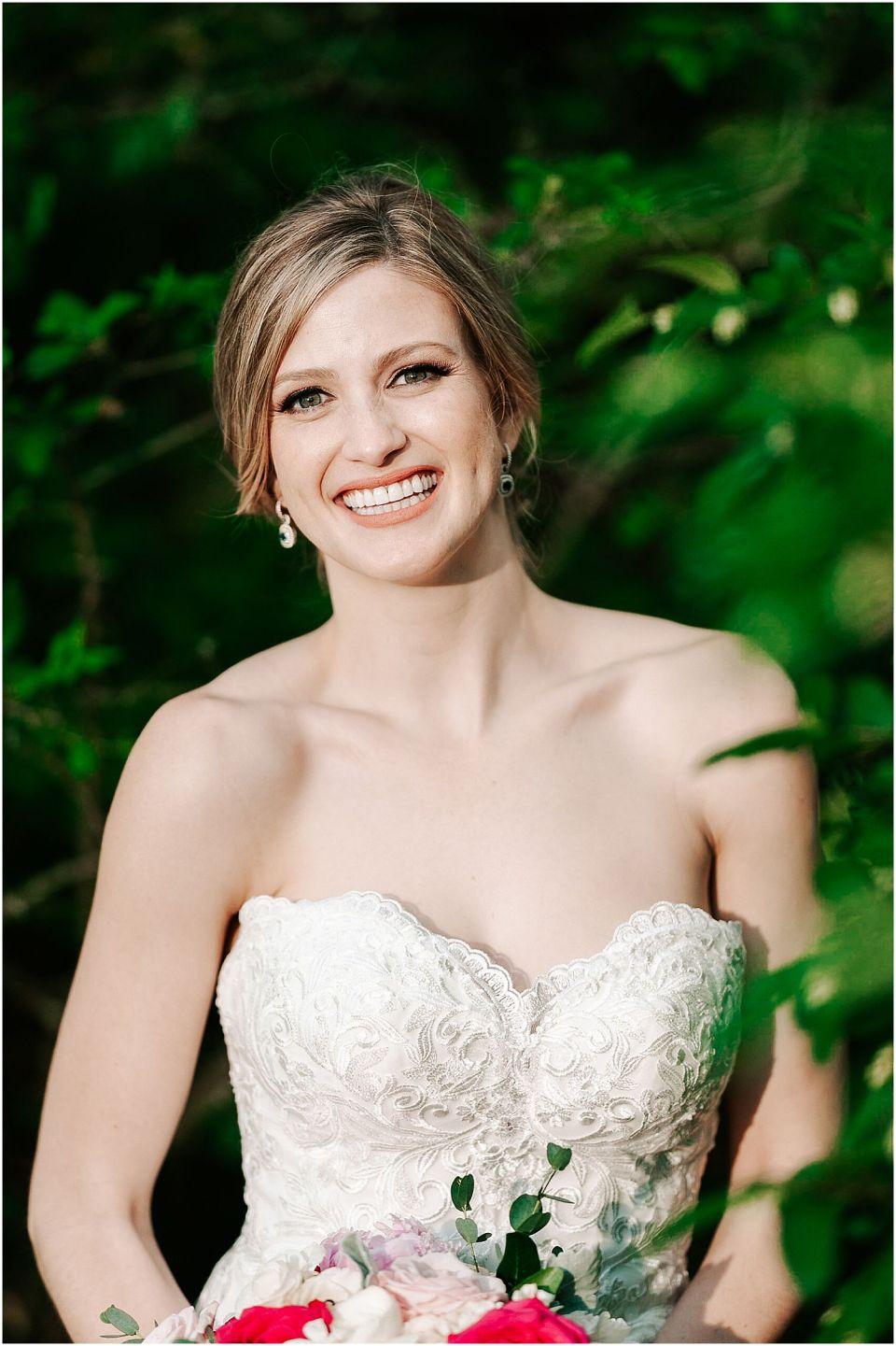 Bridal Portraits outside the Trenton Country Club wedding venue