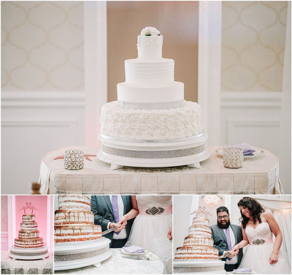 cake details at the English Manor wedding venue