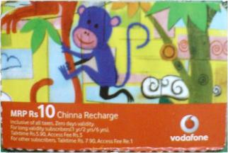 Vodafone Chinna Recharge
