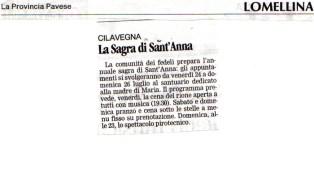 cilavegna 2009 - festa di sant'anna