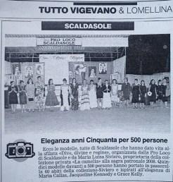 La Provincia Pavese anno 2008- sfilata Scaldasole