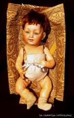 bambolotto tedesco in porcellana fine 800 - la camelia collezioni