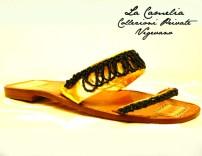 """i primi sandali con perline vetro venezia - """"La Camelia Collezioni"""""""