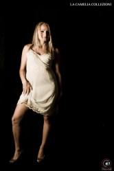 intimo anni 70 - lingerie in nylon colore beige - la camelia collezioni