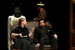 costumi di scena - costumi teatrali - la cantatrice calva e ionesco 8 - la camelia collezioni