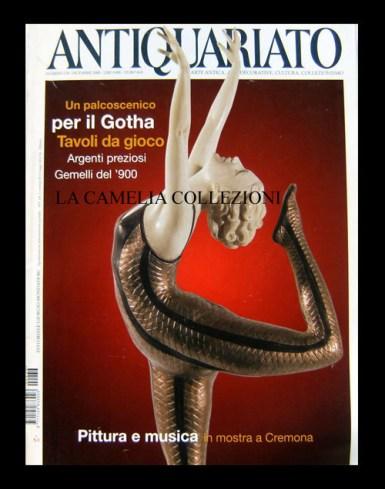 rivista antiquariato copertina 1 - la camelia collezioni