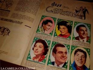 album figurine anno 1952 - i divi della canzone - 01 - la camelia collezioni
