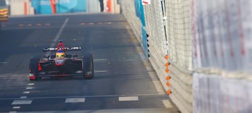 Villeneuve with Venturi racing at Beijing