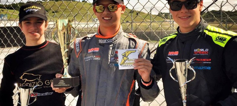 Formula car challenge 2016 season opener winners